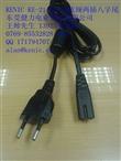 kenic 健力KE-21+KE-22 欧规八字尾电源线VDE2.5A plug