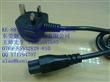 KENIC健力 KE-88+KE-33 英规BSI 梅花尾C5 安规插头电源线