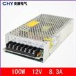 厂家直销12V电源/LED开关电源100W-12V/8.3A质保一年
