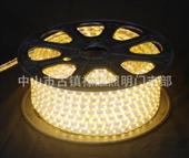 禄耀LED高品质5050-60灯高压铝线灯带室内户外暗槽轮廓软灯条贴片