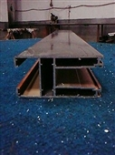 供应壁厚2.2mm 铝合金门窗 阳台门 120重型推拉门铝材