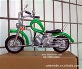 摩托车模型 铝线工艺品 创意摆件 旅游礼物 生日 节日 收藏