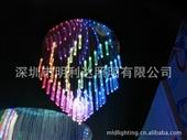 厂家直销幻彩吊灯 风车全彩吊灯 LED光纤灯 环保节能 高亮度