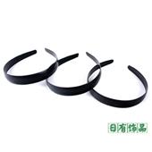 韩版发箍 DIY饰品配件 半成品头箍 2.0厘米圆背发夹 发饰
