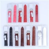 【真皮表带】款式齐全 现货批发 香港奥士达原装真皮手表配件