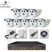 集成监控系统-百万高清 8路监控设备 监控系统 安防监控套装8路监控 监控摄像头...
