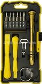 家用组合工具-奥飞工具 17件手机修理工具组套  苹果IPHONE手机维修专用-...