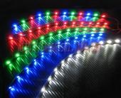 摩托车用品与附件-汽摩通用LED防水装饰软灯条,改装配件,21灯 爆闪贴片彩灯-...
