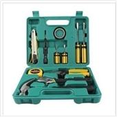 家用组合工具-12件套 礼品组合工具箱 家庭组套工具 车家用五金工具套装 批发-...