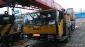 起重机-供应09年三一50吨二手汽车吊 八成新吊车 建筑吊机 汽车式起重机-起重...