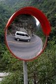 安全凸面镜-专业供应室内/外广角镜(图)安全凸面镜 交通安全镜 转弯广角镜-安全...