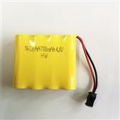 镍氢电池-4.8V 700MA遥控玩具车镍镉充电电池组 5号AA电池-镍氢电池尽...