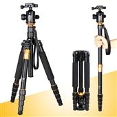 三脚架-轻装时代Q666 单反相机便携三脚架云台 旅游摄影三角支架 独脚架-三脚...