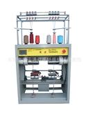 络筒并捻机械-供应DK-168珠片纱一步法复合捻线机-络筒并捻机械-...