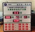 供应广东广州敏惠汽车零部件有限公司安全生产电子看板