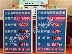供应广东中山叁迪输送设备有限公司LED电子看板