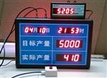 供应广东佛山欣威鞋厂LED电子看板产线自动计数看板