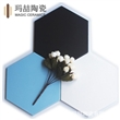 佛山特价优等纯色六角瓷砖200x230餐厅地面砖 背景墙砖 厂家直销