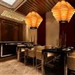 中式木皮吊灯 个性创意茶楼客厅室内灯笼灯酒店木艺日式吊灯