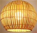 竹艺吊灯 手工竹藤吊灯 东南亚餐厅客厅卧室阳台玄关茶室灯具