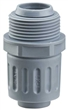 FLEXA含弹簧钢丝或加强筋软管接头,FLEXA黄铜镀镍金属软管接头