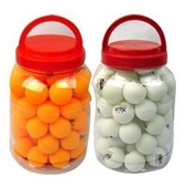 乒乓球-战甲乒乓球桶装60只 白色 黄色 ZJ-2223-乒乓球尽在-义...