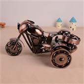 批发采购金属工艺品-L1522 仿古铁艺边三轮摩托车模型 怀旧家居办公装饰摆件生...