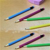 铅笔-厂家直销2B 全自动出芯铅笔 正姿活动铅笔 0.7mm自动笔 批发-铅笔尽...