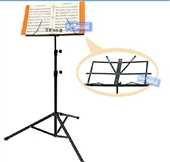 乐器配件-EXAMUSIC 乐谱架 可升降折叠 曲谱架 小提琴谱架 古筝谱架 谱...