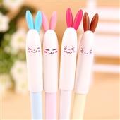 韩国文具_8219韩国文具 可爱兔兔子中性笔//考试 -