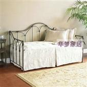 沙发类-黑加白 铁艺沙发床 客厅铁艺沙发 1.2 定做 简约-沙发类尽在...