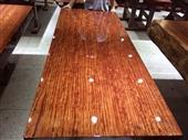 茶桌、茶台-巴花大板实木茶桌/红木办公桌/大班台/巴西花梨木大板会议桌-茶桌、茶...