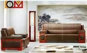 沙发类-成都厂家组合沙发  老总办公实木欧式沙发  韩皮西皮接待专用沙发-沙发类...