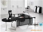 板式办公台_【供应办公台】板式办公台/钢制老板桌 -