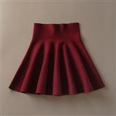 半身短裙_2014新款冬高腰毛线打底裙显瘦潮款半身短裙 -