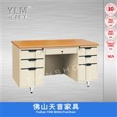 双柜办公桌_天首家具 双柜办公桌 方便实用 容纳大1件起批 -