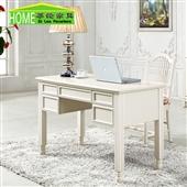 桌类、茶几-厂价批发法式实木书桌 时尚优质办公桌 白色橡木书桌 蒂伦家具-桌类、...