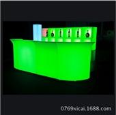 吧台-新式LED发光吧台 酒吧KTV娱乐休闲会所吧桌 欧式时尚酒吧吧台家具-吧台...