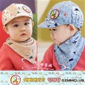 儿童帽子_gzmm儿童帽子遮阳帽鸭舌帽婴儿棒球帽口水巾批发 -