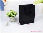 纸袋-厂家定做纸袋 订做手提袋 服装袋批发 现货27-22-10黑卡纸袋-纸袋尽...