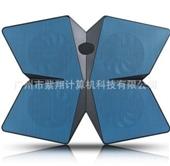 散热器-厂家供应 X4 笔记本散热系统 4扇适用于15.6英寸 散热器-散热器尽...