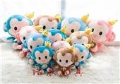 毛绒玩具-厂家批发 新款香蕉猴 毛绒玩具公仔 婚庆礼品 儿童成人绒毛玩具-毛绒玩...