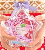 批发采购玻璃工艺品-厂家批发五角星玻璃许愿幸运星瓶心形五角星瓶大小号星星瓶批发采...