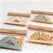 尺子-批发尚物坊情怀系列三角板   复古木制三件装  批发各式韩版文具-尺子尽在...