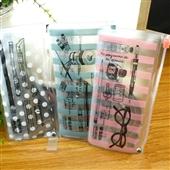 文具套装-新品晨光文具 透明直尺量角器 杂货屋ARL96118 学生套尺三角板-...
