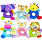 婴儿玩具_卡特卡通动物手摇铃玩偶 婴儿玩具 顺滑柔软 0.04 -