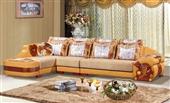 沙发类-品味生活 品味人生 时尚转角皮布沙发 602#心动不如行动-沙发类尽在阿...
