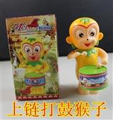 其他公仔、玩偶、娃娃-上链打鼓摇摆猴子 儿童玩具 地摊套圈玩具批发 广东优质DI...