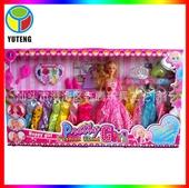 其他公仔、玩偶、娃娃-YT400999 芭比娃娃厂家直销 超大豪华套装礼盒 DI...