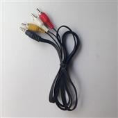 音频线、视频线-小米盒子AV线 一分三3RCA复合音视频线 3.5mm莲花  移...
